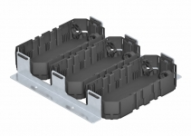 7407650 - OBO BETTERMANN Комплект для монтажного основания UZD250-3 3xGB2 (сталь) (MS3 GB2).