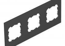 7408188 - OBO BETTERMANN Крышка для напольного бокса Telitank на 3 устройства EKR 213x88 мм (ПВХ,черный) (T12L P3S 9011).
