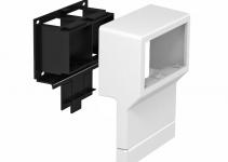 6199461 - OBO BETTERMANN Монтажная рамка для кабельного канала SKL (ПВХ,белый) (SKL-45 DRW).
