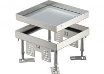 7409014 - OBO BETTERMANN Кассетная рамка RKN2 ном.размер 4 200x200 мм (сталь) (RKN2 4 VS 20).