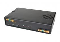 RAMOS OPTIMA - Контроллер RAMOS Optima [8 интеллектуальных портов (Вход/Выход)], в комплект поставки входят: датчик температуры (кабель - 30см), адаптер питания со шнуром, коммутационный шнур типа