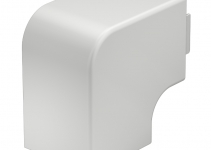 6192912 - OBO BETTERMANN Крышка плоского угла кабельного канала WDK 60x60 мм (ПВХ,белый) (WDK HF60060RW).