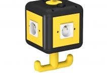 6109806 - OBO BETTERMANN Блок питания VH-4 укомплектованный 140x140x252 мм (черный) (VH-4 4SF).