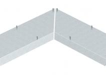 7405012 - OBO BETTERMANN Крышка внутреннего угла 90° кабельного канала AIK (сталь) (AIKF IEA 35075).