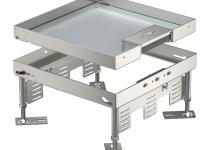 7409220 - OBO BETTERMANN Кассетная рамка RKSN2 ном.размер 9 243x243 мм (сталь) (RKSN2 9 VS 25).