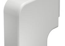 6192866 - OBO BETTERMANN Крышка плоского угла кабельного канала WDK 40x90 мм (ПВХ,белый) (WDK HF40090RW).