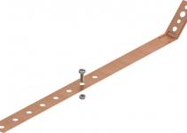 5350883 - OBO BETTERMANN Хомут ленточный для крепления к водосточной трубе  * (301 V-CU).