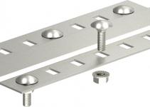 7070390 - OBO BETTERMANN Соединительный элемент кабельного листового лотка 100мм (SSLB 100 VA4571).