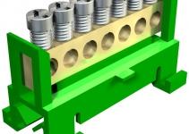 2054019 - OBO BETTERMANN Клемма защитного провода желто-зеленая 7x16мм2 (60 S 7x16 GBGN).