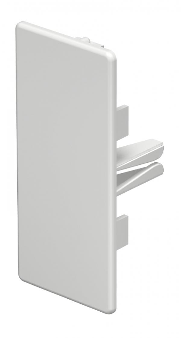 6021506 - OBO BETTERMANN Торцевая заглушка кабельного канала WDK 40x90 мм (ПВХ,серый) (WDK HE40090GR).