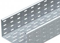 6060412 - OBO BETTERMANN Кабельный листовой лоток перфорированный 110x500x3000 (MKS 150 FS).