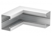 6276940 - OBO BETTERMANN Внутренний угол кабельного канала Rapid 80 нерегулируемый 90x130 мм (алюминий,белый) (GA-SI90130RW).