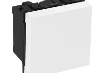 6117645 - OBO BETTERMANN Выключатель 16 А, 250 В (серебристый) (AS-B2P AL1).