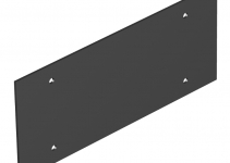 7408124 - OBO BETTERMANN Крышка глухая для напольного бокса Telitank 213x88 мм (ПВХ,черный) (T12L P03S 9011).