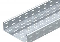 6055109 - OBO BETTERMANN Кабельный листовой лоток перфорированный 60x100x3000 (MKS 610 FS).
