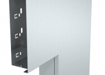 6249523 - OBO BETTERMANN Плоский угол с крышкой кабельного канала LKM 60x200 мм (сталь,белый) (LKM F60200RW).