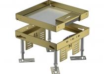7409204 - OBO BETTERMANN Кассетная рамка RKSN2 ном.размер 4 200x200 мм (латунь) (RKSN2 4 MS 25).