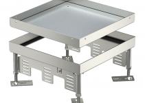 7409044 - OBO BETTERMANN Кассетная рамка RKN2 ном.размер 9 243x243 мм (сталь) (RKN2 9 VS 20).
