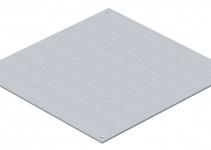 7400573 - OBO BETTERMANN Заглушка монтажного основания UZD250 282x282x4 мм (сталь) (DU 250-2).