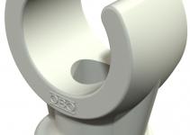 2140063 - OBO BETTERMANN Крепежная скоба (клипса) 6мм (2962 6 LGR).