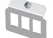7407828 - OBO BETTERMANN Суппорт для установки модулей в монтажную рамку MTU тип C (сталь) (MTM 3C).