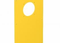 6109856 - OBO BETTERMANN Накладка блока питания VH для монтажа устройств 166x105 мм (желтый) (VHF-P12).