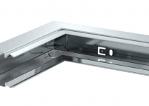 6247652 - OBO BETTERMANN Внутренний угол кабельного канала LKM 40x40 мм (сталь) (LKM I40040FS).