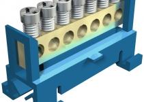 2054000 - OBO BETTERMANN Клемма защитного провода синяя 7x16мм2 (60 N 7x16 BL).