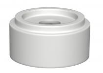 6178540 - OBO BETTERMANN Дистанционный держатель для выравнивания LK высотой 12 мм (ПВХ,серый) (AH1).