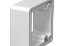6249846 - OBO BETTERMANN Кольцо для защиты кромок LKM 40x40 мм (серый) (KSR40040).