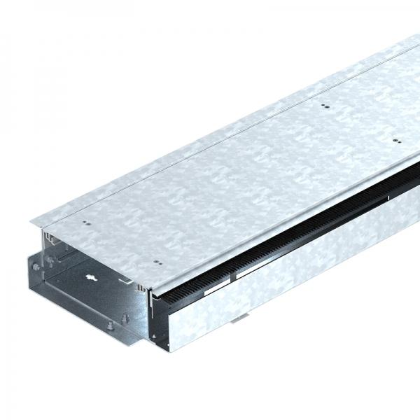7403816 - OBO BETTERMANN Открываемый кабельный канал OKB с крышкой 2000x250x93 мм (сталь) (OKB U 25085 BLON).