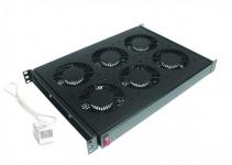 """DP-VEC-09 - 19"""" вентиляторный модуль, 9 электронно-коммутируемых вентиляторов, с термостатом"""