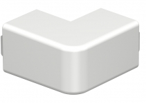 6158374 - OBO BETTERMANN Крышка внешнего угла кабельного канала WDK 25x25 мм (ПВХ,серый) (WDK HA25025GR).