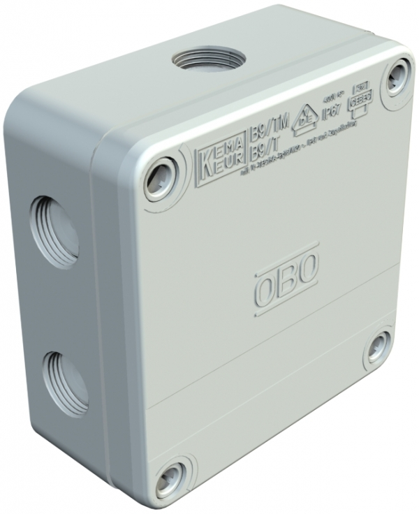 2001888 - OBO BETTERMANN Распределительная коробка 110x110x50 (B 9 T M RO).