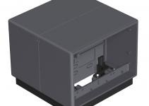 7408292 - OBO BETTERMANN Напольный бокс Telitank 118x118x97 мм (полиамид,черный) (T4B 00C 9011).