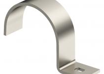 1013873 - OBO BETTERMANN Крепежная скоба (клипса) металл. однолапковая 14мм (822 14 V4A).