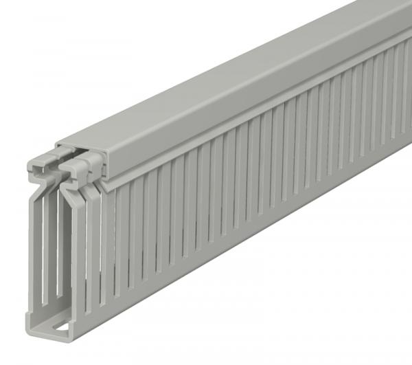 6178026 - OBO BETTERMANN Распределительный кабельный канал LK4 60x15x2000 мм (ПВХ,серый) (LK4 60015).