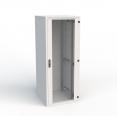 RM7-DO-27/80 - Передняя дверь и задняя стенка для шкафа 27U шириной 800 мм