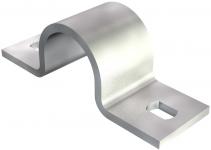 1015496 - OBO BETTERMANN Крепежная скоба (клипса) металл. двухлапковая 32мм (823 32 FT).