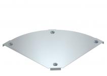 7138540 - OBO BETTERMANN Крышка угловой секции 90° 100мм (DFBM 90 100 DD).