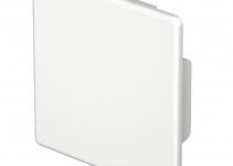 6193285 - OBO BETTERMANN Торцевая заглушка кабельного канала WDK 60x60 мм (ПВХ,белый) (WDK HE60060RW).