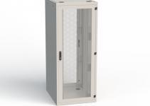RSF-42-60/10A-FWFW0-0EF-B - Напольный шкаф Conteg, серверный, высота 42U, ширина 600мм, глубина 1000мм, передняя и задняя двустворчатые двери (перфорация 86%), без боковых стенок, крыша цельная, днище наборное, макс.нагрузка 1500кг, цвет светло-серый