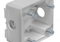 6024009 - OBO BETTERMANN Монтажная коробка CEE для кабельного канала WDK (светло-серый) (2392).