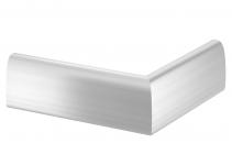 6115855 - OBO BETTERMANN Крышка внешнего угла дизайнерского канала типа Soft (алюминий) (OT A Soft EL).