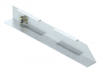 7404782 - OBO BETTERMANN Торцевая заглушка кабельного канала AIK правая (сталь) (AIK ESR 20070).