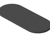 6290174 - OBO BETTERMANN Резиновая подкладка для электромонтажной колонны ISS (резина,черный) (ISSGU70140).