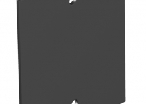 7408108 - OBO BETTERMANN Крышка глухая для напольного бокса Telitank 71x88 мм (ПВХ,черный) (T12L P01S 9011).