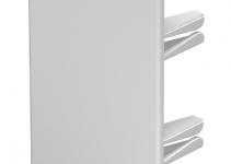 6183832 - OBO BETTERMANN Торцевая заглушка кабельного канала WDK 60x130 мм (ПВХ,светло-серый) (WDK HE60130LGR).