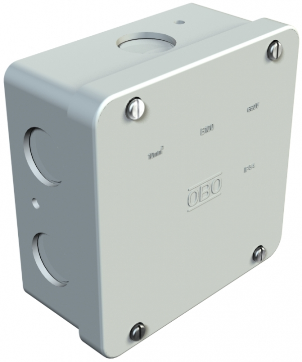 2001268 - OBO BETTERMANN Распределительная коробка 122x122x59 (B 100 M).