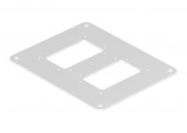 6290337 - OBO BETTERMANN Напольная пластина для электромонтажной колонны (сталь,серебристо-белый) (ISSBP140100WA).